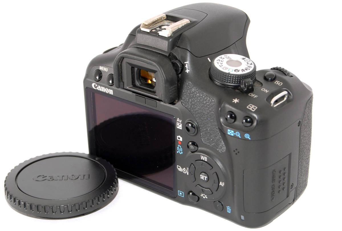 ●付属品多数有り● Canon キャノン EOS Kiss X3 純正&超望遠Wズームレンズセット_使用頻度が高く扱い易い機種は人気高です★
