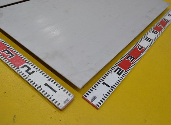 ステン板(No.1)未研磨(3.0~6.0mm厚)の(1000x500~300x200mm)定寸・枚数販売S11_画像2