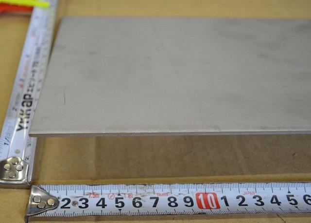 ステン板(No.1)未研磨(3.0~6.0mm厚)の(1000x500~300x200mm)定寸・枚数販売S11_画像3