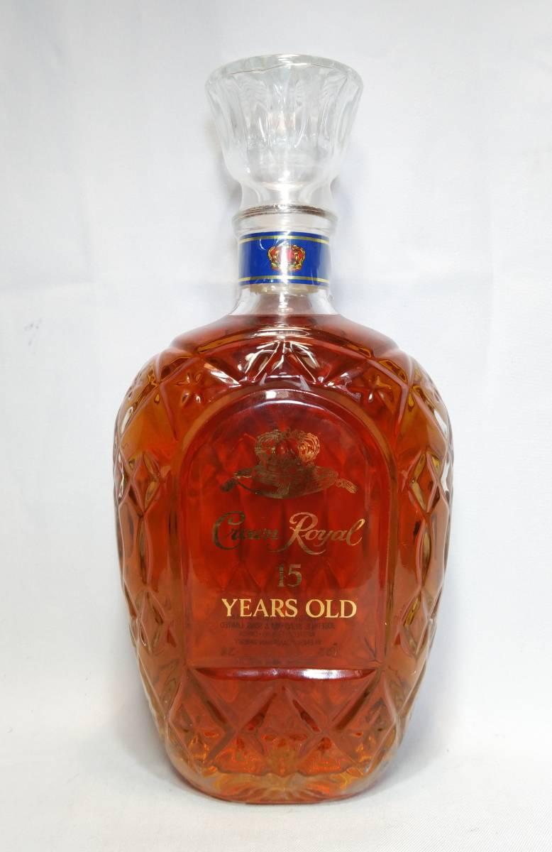 【送料無料】Crown Royal 15years old 40度 750ml【クラウンローヤル15年 クラウンロイヤル15年】_画像3