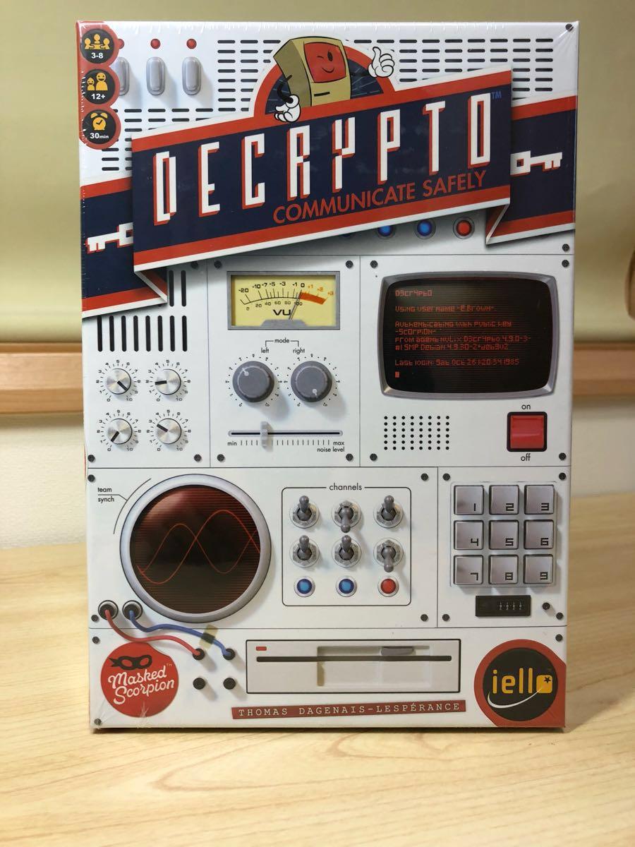 DECRYPTO (デクリプト) ボードゲーム 3~8人用 暗号通信ゲーム 【未開封新品】