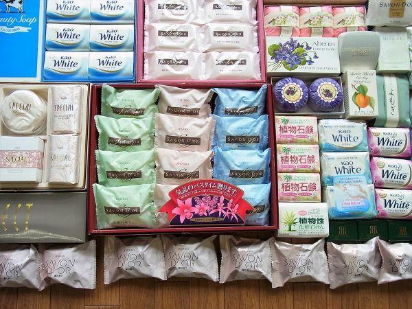◆大量 固形石鹸150個以上まとめてセット 資生堂 花王 牛乳石鹸_画像4