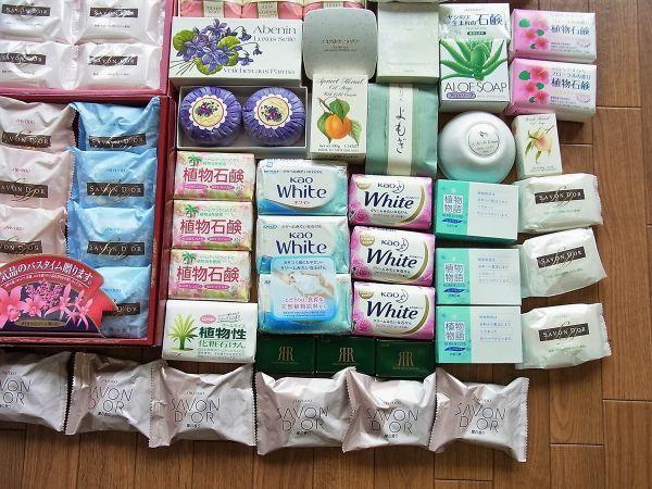 ◆大量 固形石鹸150個以上まとめてセット 資生堂 花王 牛乳石鹸_画像5
