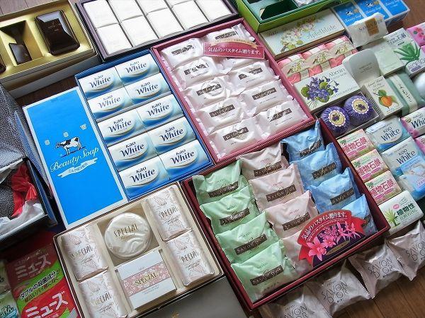 ◆大量 固形石鹸150個以上まとめてセット 資生堂 花王 牛乳石鹸_画像2