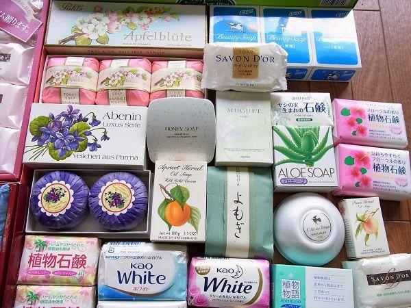 ◆大量 固形石鹸150個以上まとめてセット 資生堂 花王 牛乳石鹸_画像10