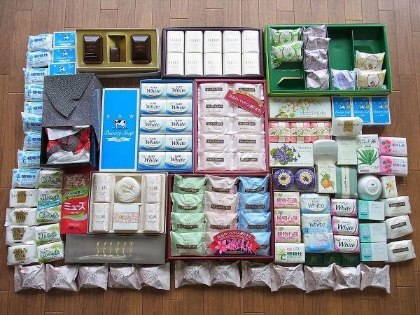 ◆大量 固形石鹸150個以上まとめてセット 資生堂 花王 牛乳石鹸