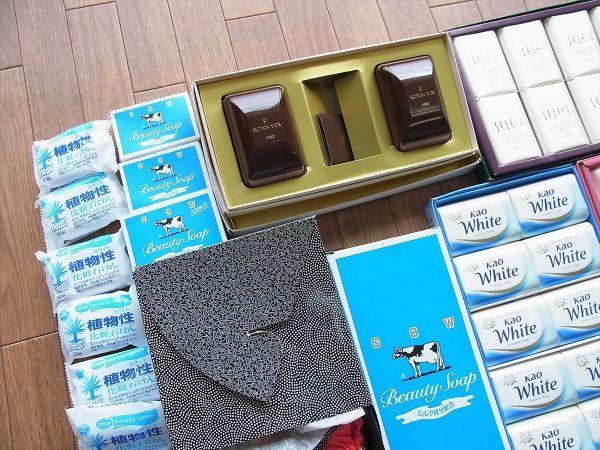 ◆大量 固形石鹸150個以上まとめてセット 資生堂 花王 牛乳石鹸_画像8