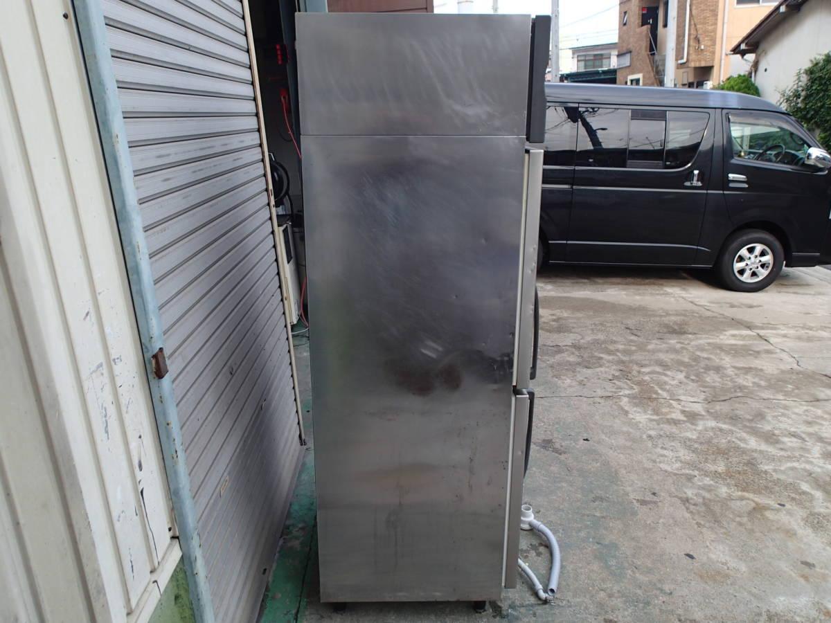 2009年製 ホシザキ 業務用 縦型 冷凍冷蔵庫 HRF-75XT 動作確認済 中古品_左側面です!