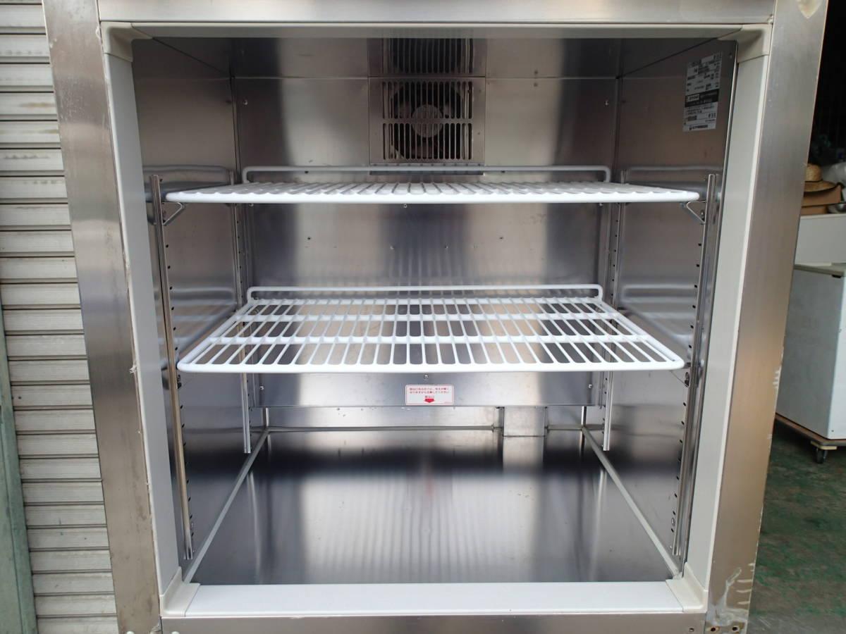 2009年製 ホシザキ 業務用 縦型 冷凍冷蔵庫 HRF-75XT 動作確認済 中古品_冷凍庫内です!