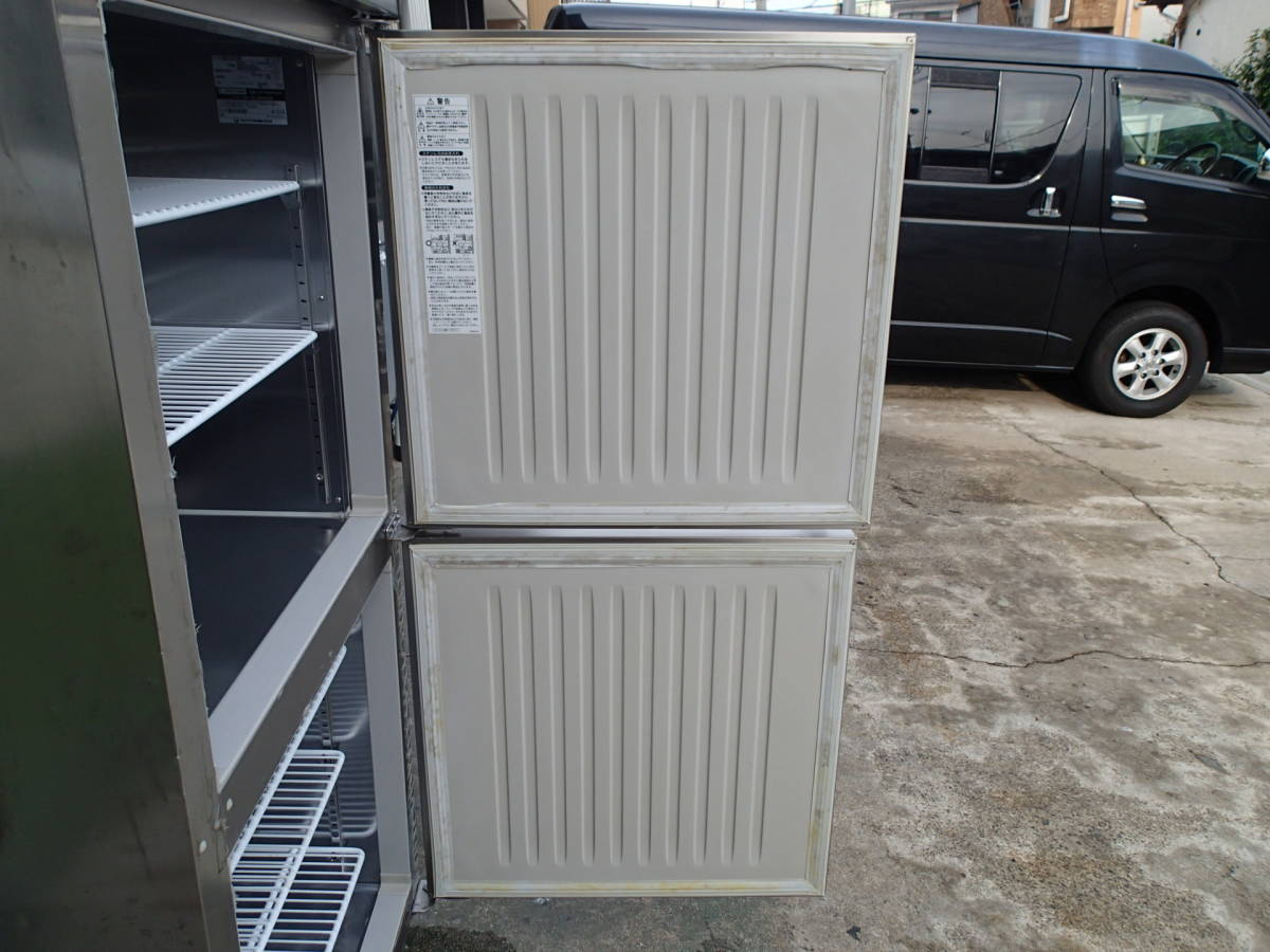 2009年製 ホシザキ 業務用 縦型 冷凍冷蔵庫 HRF-75XT 動作確認済 中古品_ドアです!