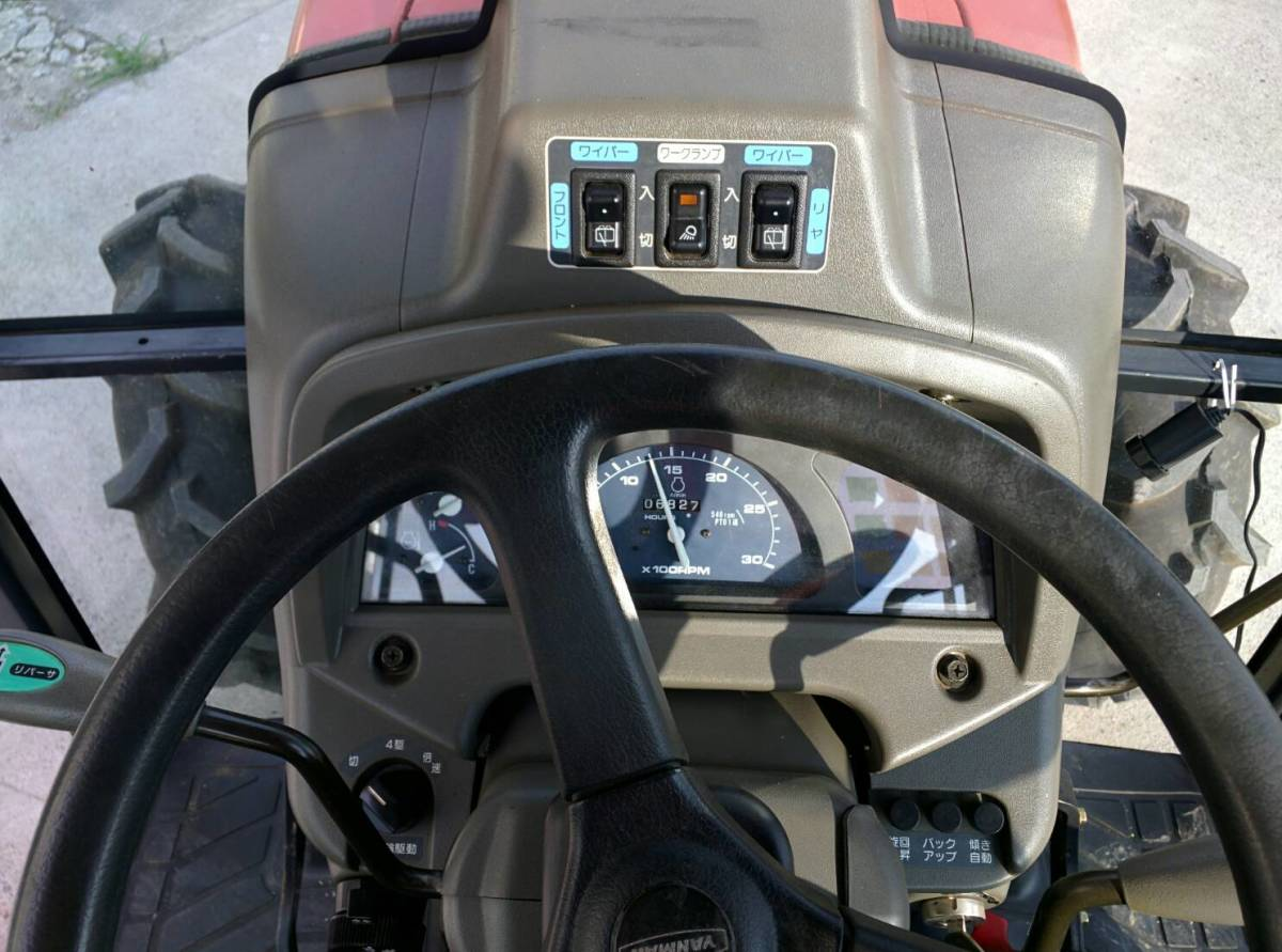 ヤンマー US-330  エコトラ エコディーゼル ACキャビン 682hrs  群馬県発_画像3