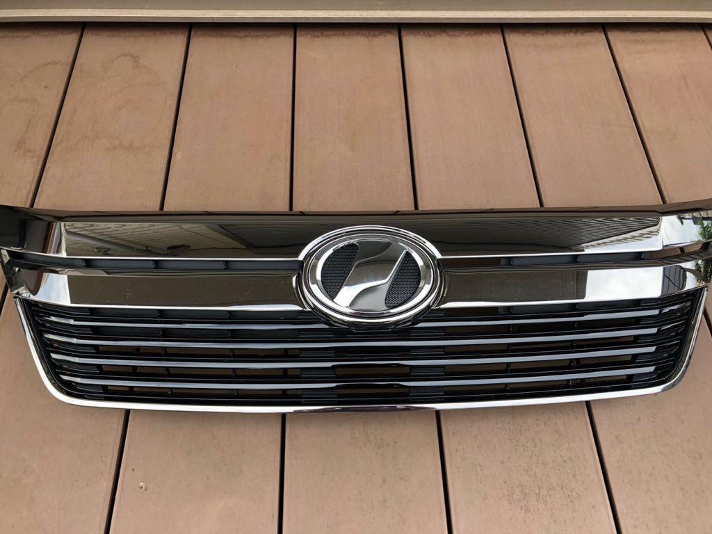 ヴェルファイア 20系 後期型ゴールデンアイズ2 純正グリル 新車取り外し新品