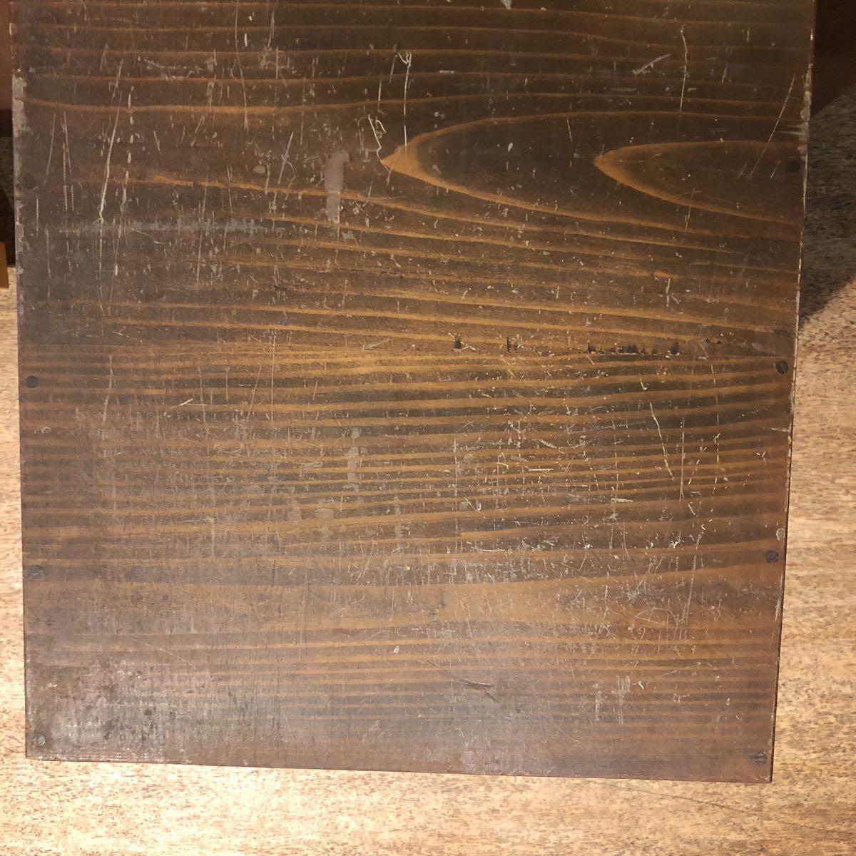 レトロ 木箱 5段 アンティーク 小引き出し 収納古道具 小物入れ_画像3