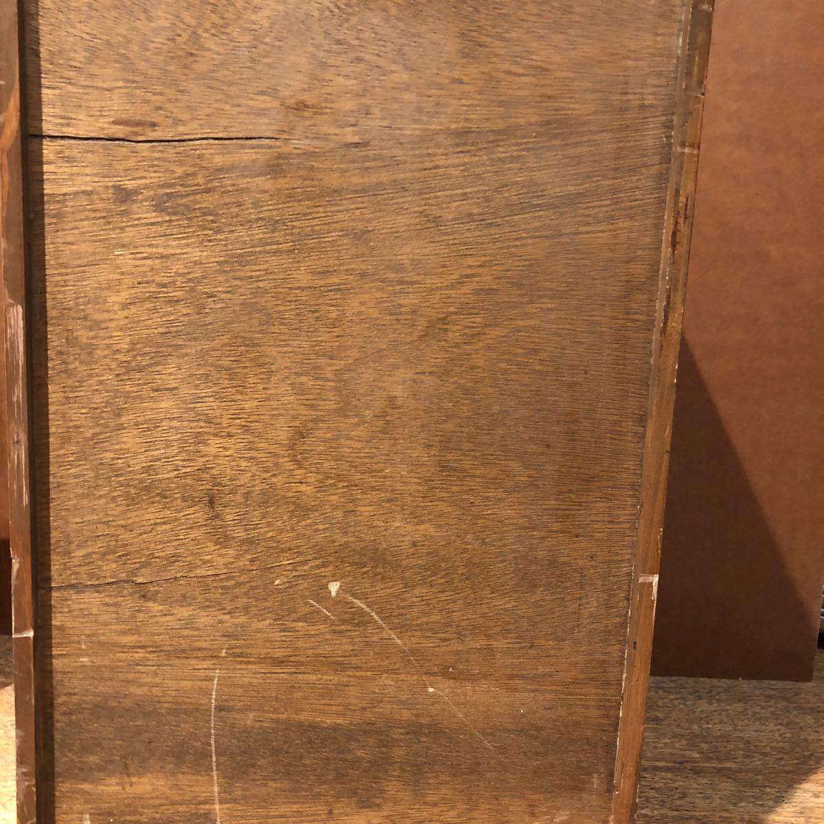 レトロ 木箱 5段 アンティーク 小引き出し 収納古道具 小物入れ_画像8