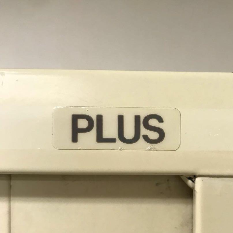 ◎PLUS ガラス引き違いキャビネット◎書庫 下置きタイプ◎ガラス戸◎オフィス 収納◎プラス◎A_画像10