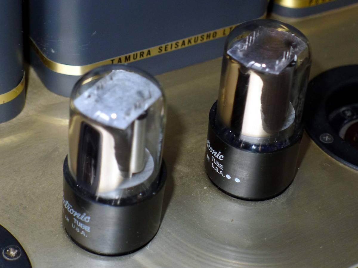 オーディオ専科~PROFESSOR-2/真空管パワーアンプ 、現状品_画像3