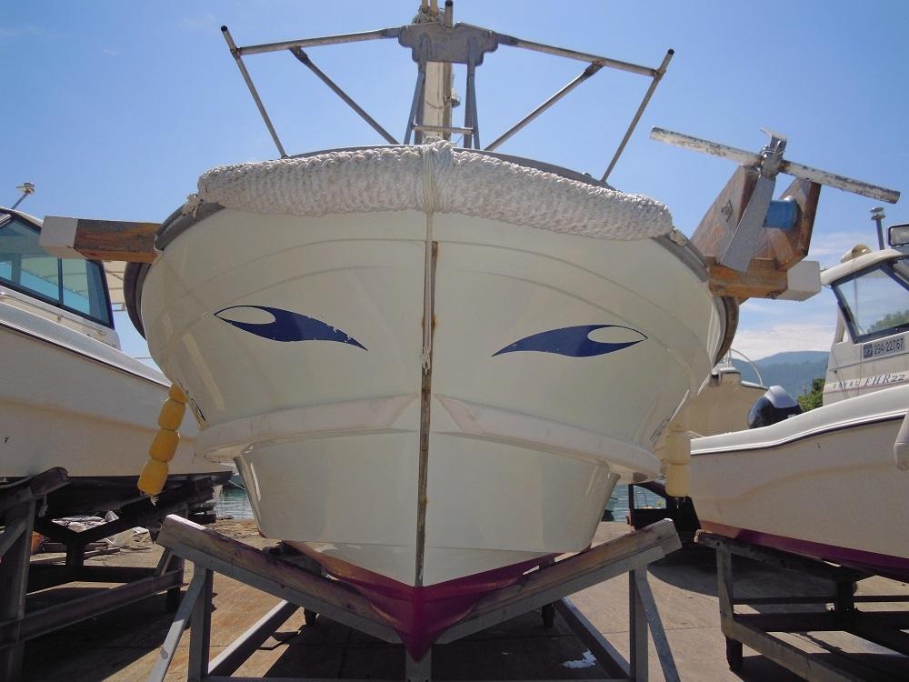 ヤンマーDE26Fシャフト船 あらしお _画像2