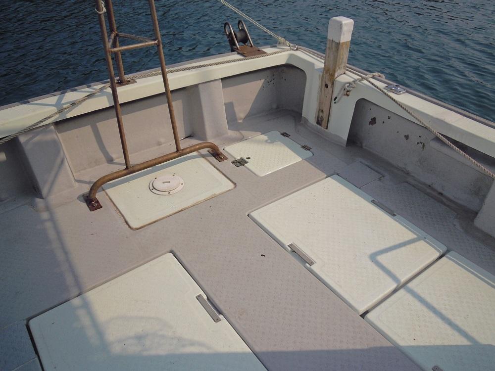 ヤンマーDE26Fシャフト船 あらしお _画像6