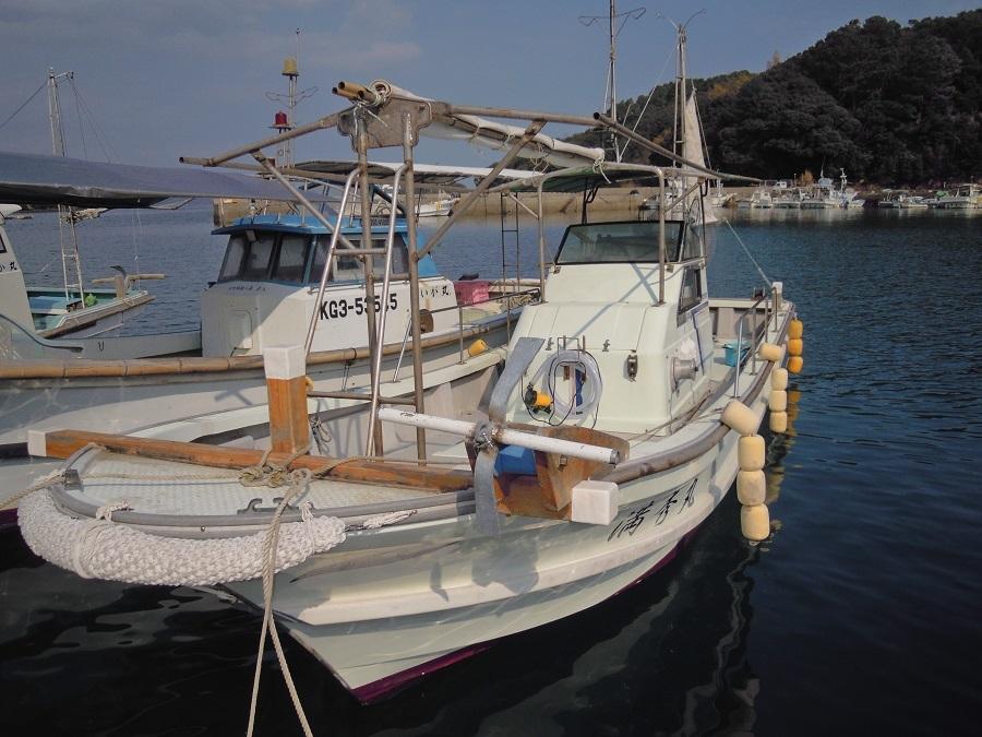 ヤンマーDE26Fシャフト船 あらしお _画像1