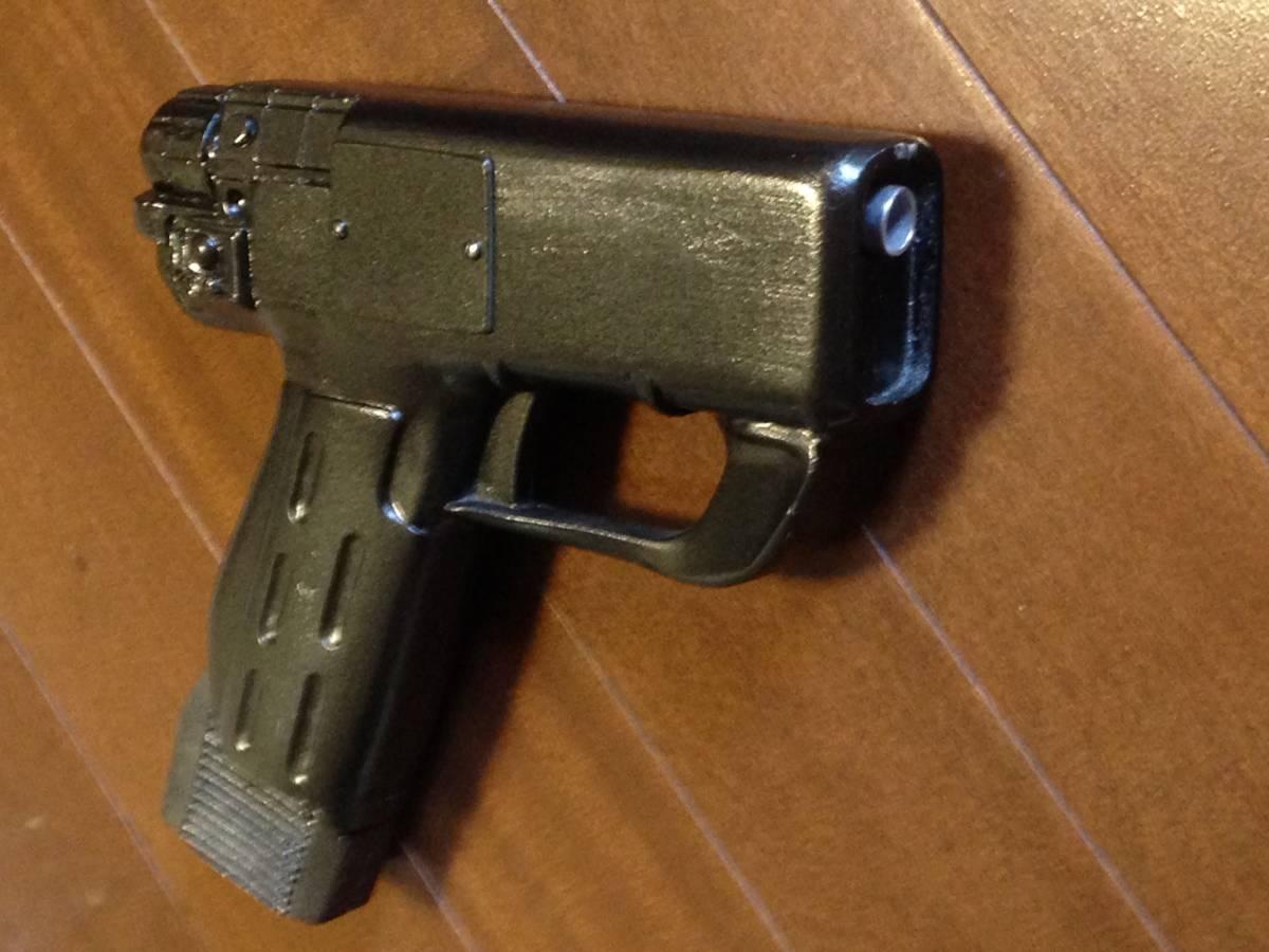 証明書付き Seaquest DSV police gun シークエスト ポリスガン パルスピストル 音波銃 撮影用小道具 発光ギミック 送料無料