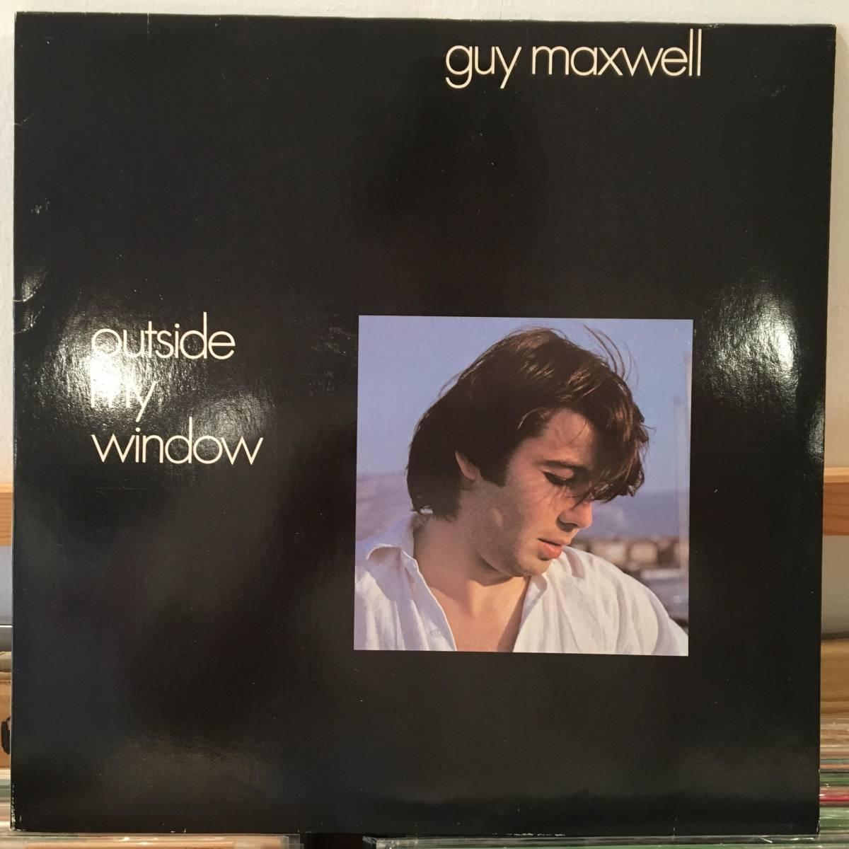 ☆Guy Maxwell/Outside My Window☆オランダ産マイナーAOR/SOUL