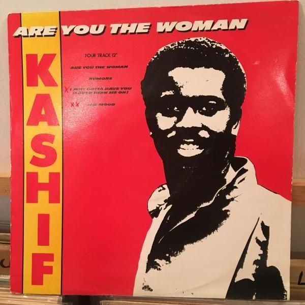 ☆Kashif/Are You The Woman☆メロウシンセブギ!