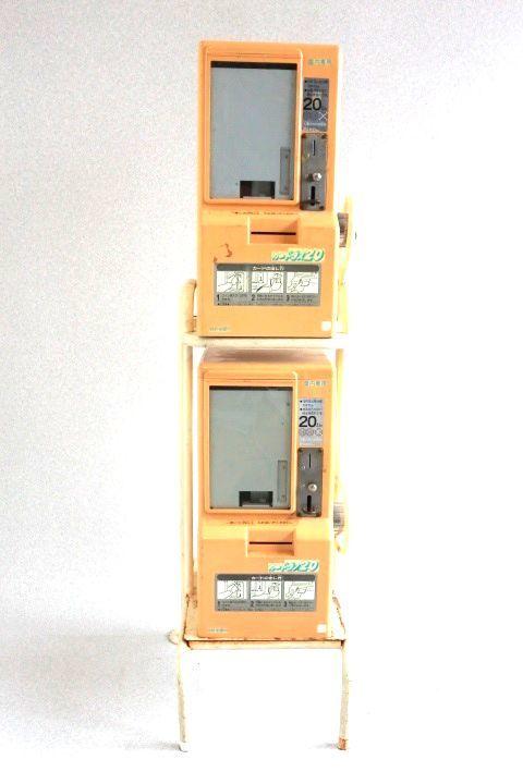 カードダス20 本体 2台セット 枠付き 希少レア物です 7053