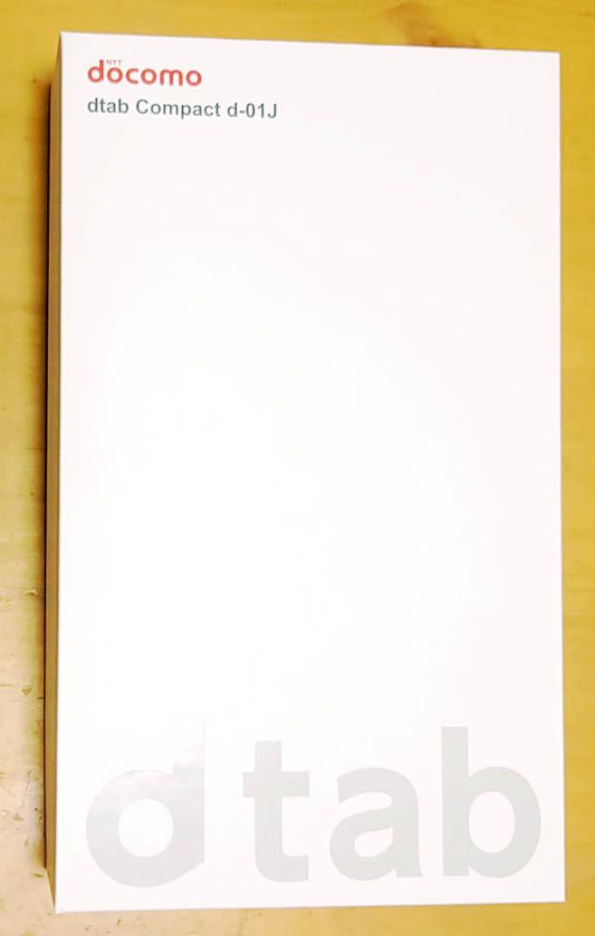 docomo dtab compact d-01J  ゴールド