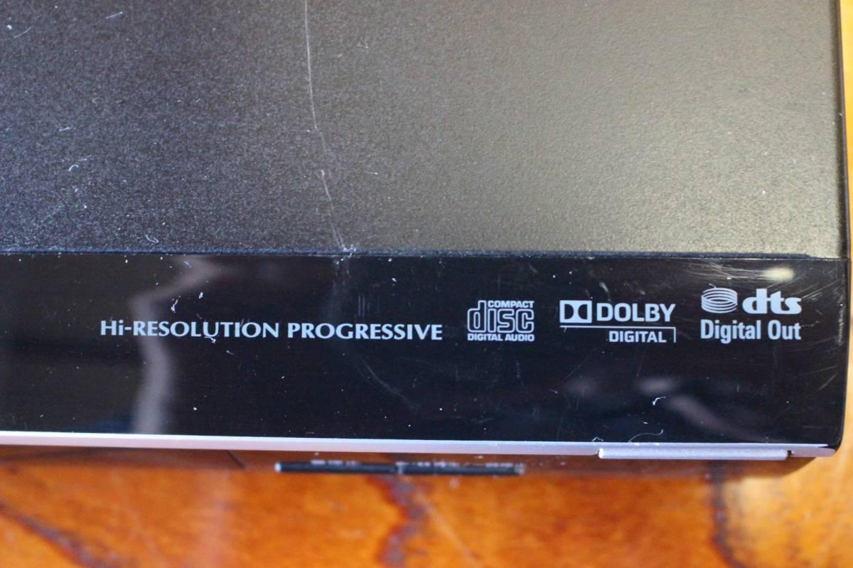 新▲ の-654 DVDプレーヤー 東芝 型番:SD-310J 通電OK 2010年製 中古品 高さ4.2cm 幅33cm 奥行21.5cm 重さ1.3kg ▲_画像4