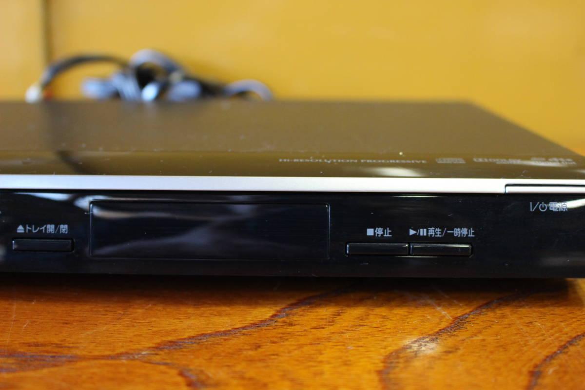 新▲ の-654 DVDプレーヤー 東芝 型番:SD-310J 通電OK 2010年製 中古品 高さ4.2cm 幅33cm 奥行21.5cm 重さ1.3kg ▲_画像3