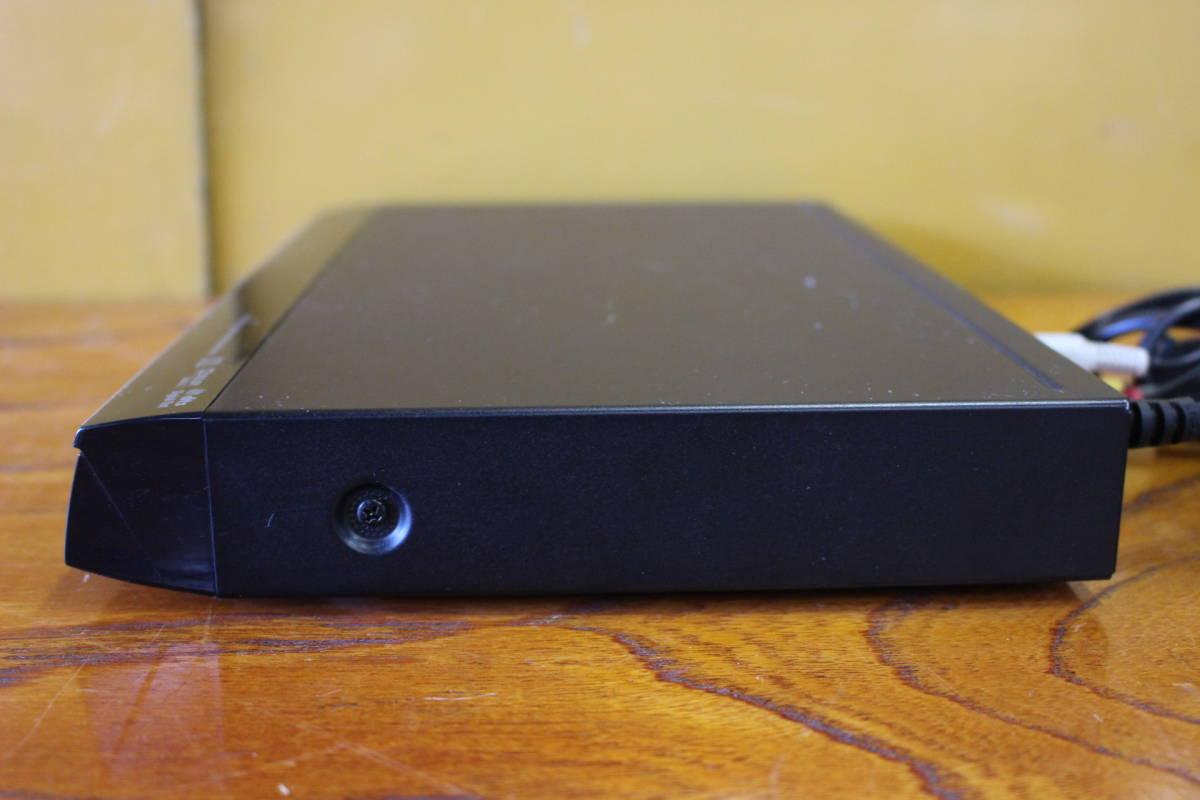 新▲ の-654 DVDプレーヤー 東芝 型番:SD-310J 通電OK 2010年製 中古品 高さ4.2cm 幅33cm 奥行21.5cm 重さ1.3kg ▲_画像6