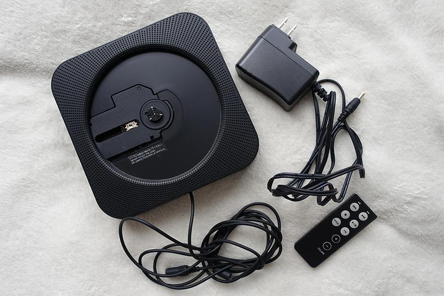 無印良品 MUJI 壁掛式 CDプレーヤー CPD-3 黒 中古