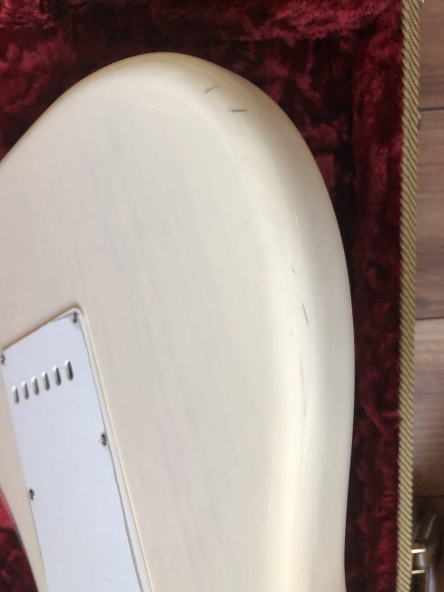 Fender USA 56 American Vintage Stratocaster White Blonde 2013年 Ash クリスマスキャスター風 クラプトン ストラト フェンダー_画像9