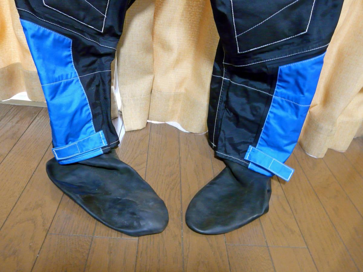 Lサイズ J-FISHジェイフィッシュ ドライスーツ extreme riders used_画像7