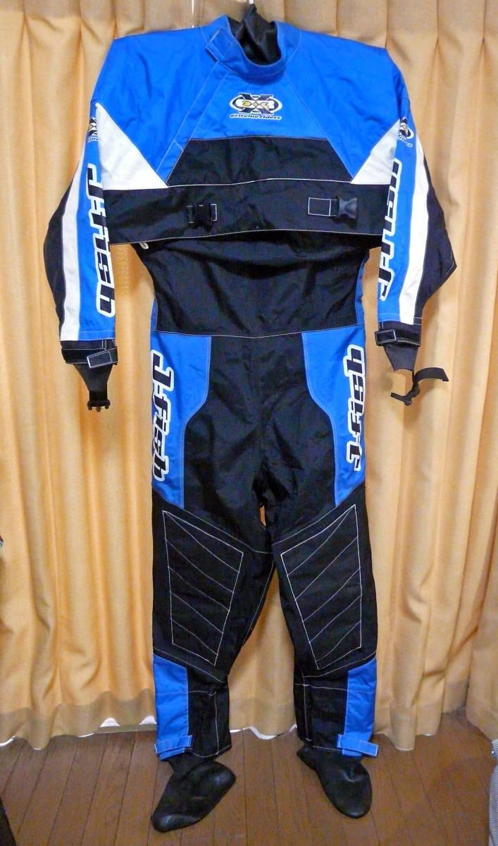 Lサイズ J-FISHジェイフィッシュ ドライスーツ extreme riders used