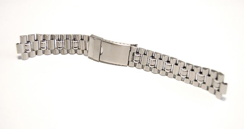 ステンレススチール製 20mm 時計ブレス/バンド/ベルト 男性用腕時計部品 デッドストック ビンテージ/ヴィンテージ MB215_画像5
