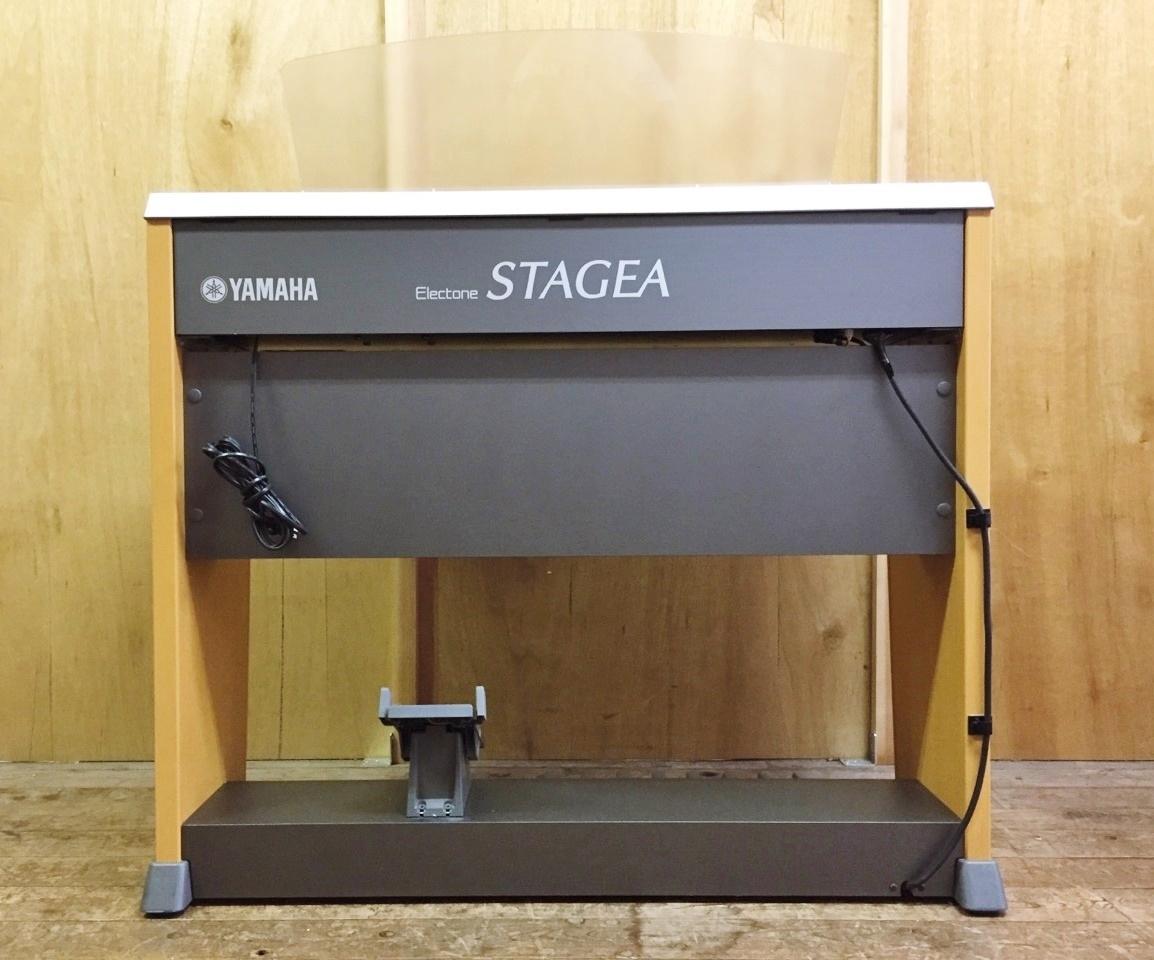 YAMAHA ヤマハ エレクトーン STAGEA ステージア mini ELB-01 2010年製 譜面立て付 動作OK 高機能の入門用モデル_画像2