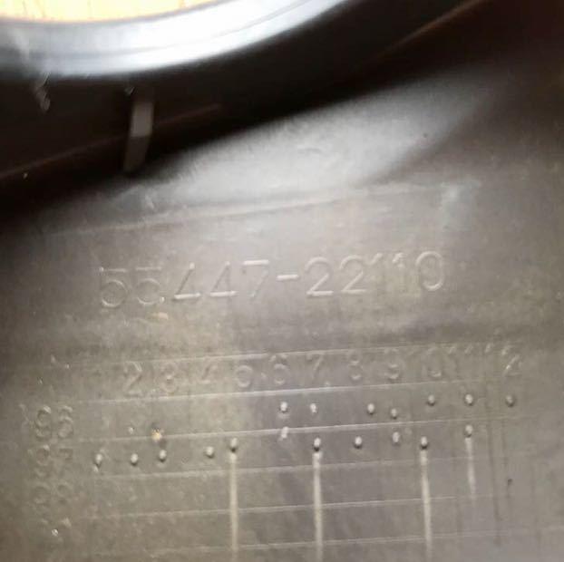 ■JZX100 GX100 マーク2 チェイサー純正 ドアミラースイッチ パネル キー差し込み 木目調 中古_画像9