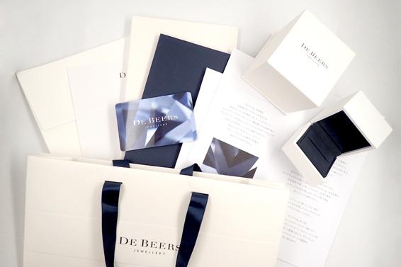 【De Beers】 0.7ct カレスリング ダイヤ リング 12.5号 デビアス 箱 袋 鑑定カード 【プレトレ】 _画像3