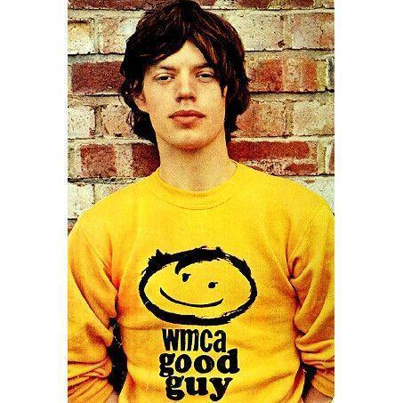 【XLサイズ 新品 黄】ミックジャガー着用 wmca Tシャツ ローリングストーンズ The Rolling Stones The Animals アニマルズ The Monkees_画像2