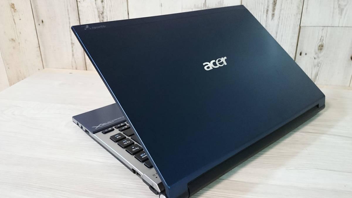 【小型・軽量】最新Windows10☆Acer Aspire 3830☆Intel Core i5-2430M 2.40GHz☆爆速SSD360GB/4GB/Office/Wi-Fi/HDMI/Webcam/USB3.0☆_画像3