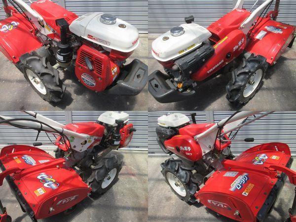 ヤンマー YANMAR DK 7 デカ ポチ ミニ 耕運機 管理機 逆転 クロス ロータリ 6.2馬力 農用 トラクター ロータリー ガソリン エンジン_画像5