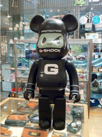 即決 1000% BE@RBRICK G-SHOCKMAN DW-5600 未開封/ G SHOCK 30周年記念 ベアブリック Gショック bape kaws 400 ミッキー キース バスキア_画像2