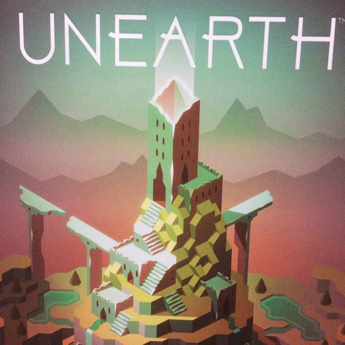 UNEARTH 海外版(日本語訳ルールブック、日本語訳シール付き) ボードゲーム