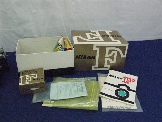 B125 カメラ レンズ Nikon ニコンF Nippon Kogaku NIKKOR-S 1:1.4 5.8 EXPOSURE METER MODEL 2 連動露出計 ニコンメーターⅡ型 本体 箱付き_画像3