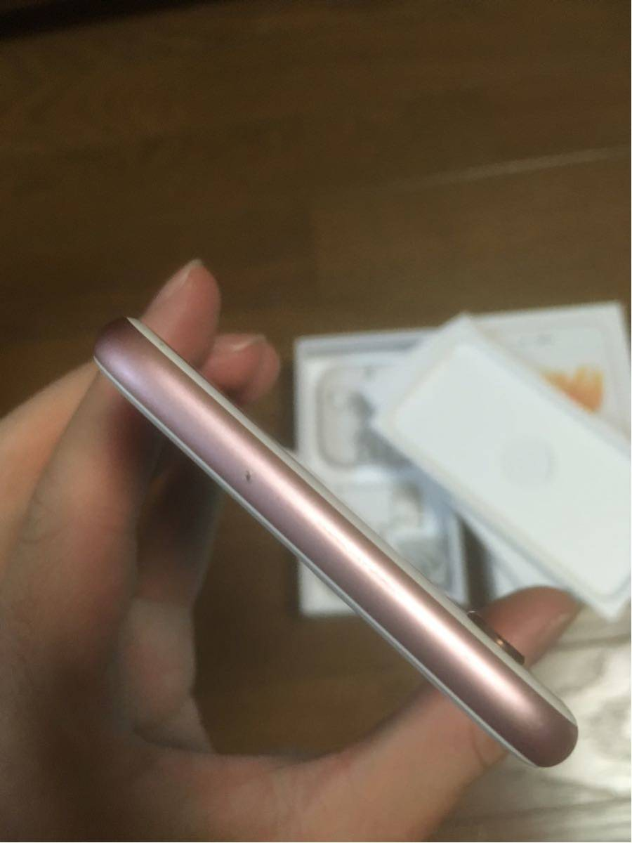 iOS10.3.3 傷少 SIMフリー iPhone6s 64GB ローズゴールド_画像4
