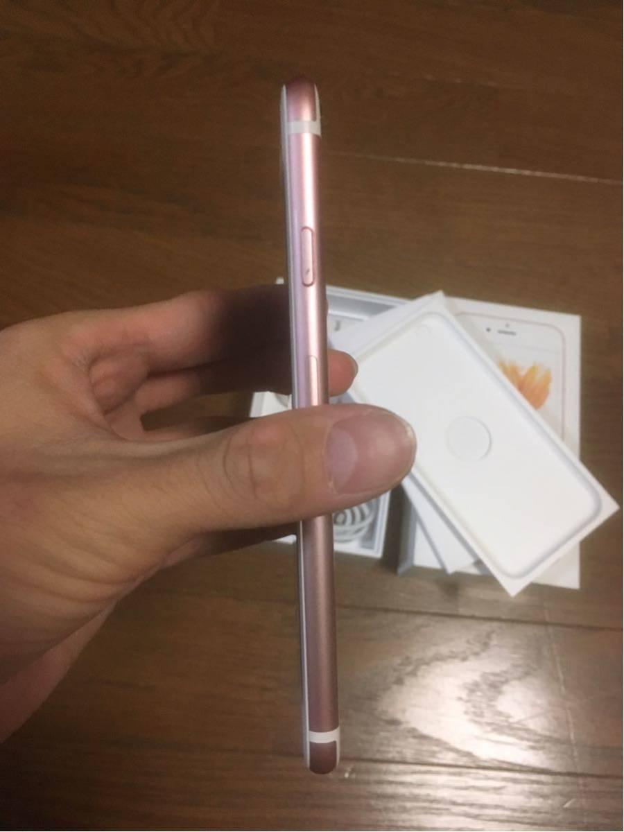 iOS10.3.3 傷少 SIMフリー iPhone6s 64GB ローズゴールド_画像5