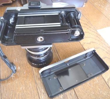 Nikon F 640初期型&専用革製ケース&バッグ&露出計2種&フォトミックファインダー&チックマーク5cmレンズ&フード&プロストラップ_画像10