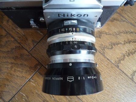 Nikon F 640初期型&専用革製ケース&バッグ&露出計2種&フォトミックファインダー&チックマーク5cmレンズ&フード&プロストラップ_画像4
