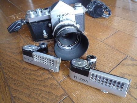 Nikon F 640初期型&専用革製ケース&バッグ&露出計2種&フォトミックファインダー&チックマーク5cmレンズ&フード&プロストラップ_画像5